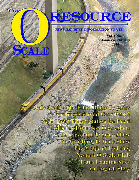Back Issues of The O Scale Resource Magazine 3