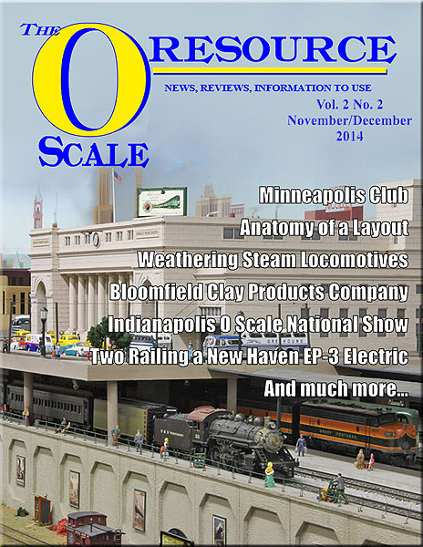 Back Issues of The O Scale Resource Magazine 8