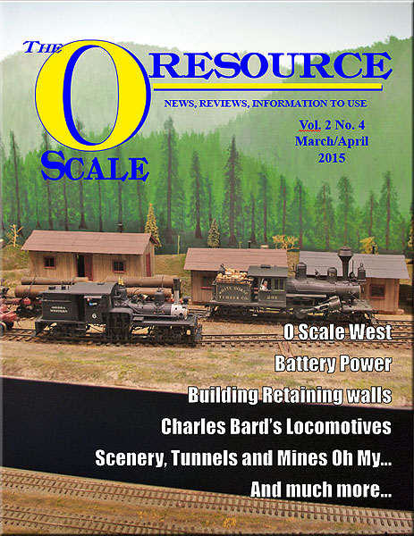 Back Issues of The O Scale Resource Magazine 10