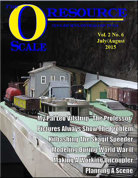 Back Issues of The O Scale Resource Magazine 12