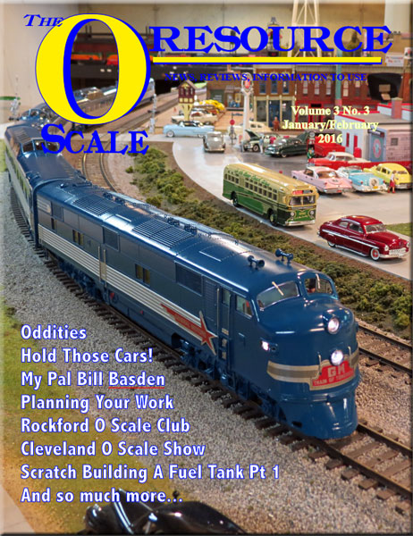 Back Issues of The O Scale Resource Magazine 15