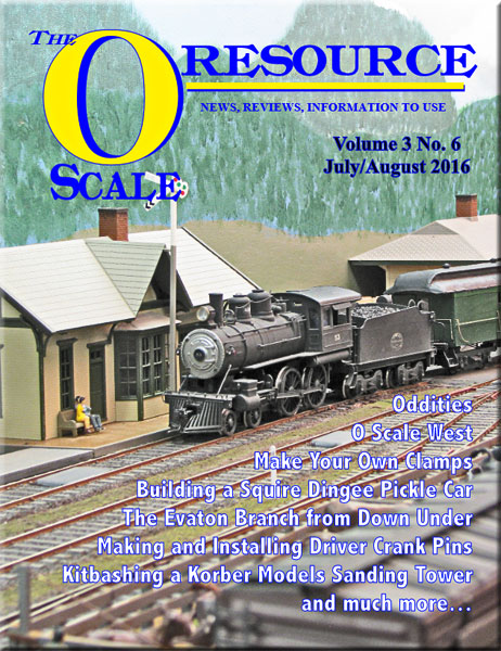 Back Issues of The O Scale Resource Magazine 18