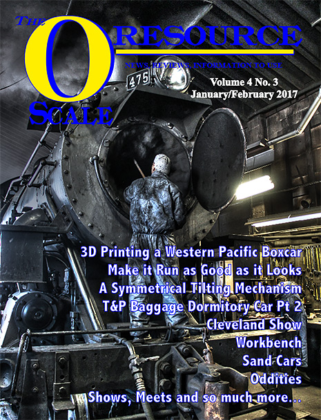 Back Issues of The O Scale Resource Magazine 21