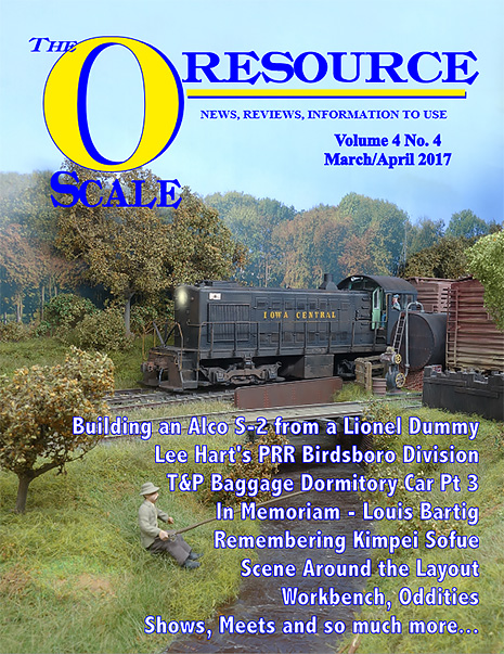 Back Issues of The O Scale Resource Magazine 22