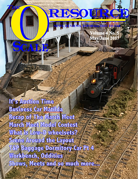 Back Issues of The O Scale Resource Magazine 23
