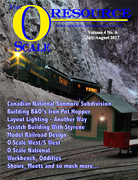 Back Issues of The O Scale Resource Magazine 24