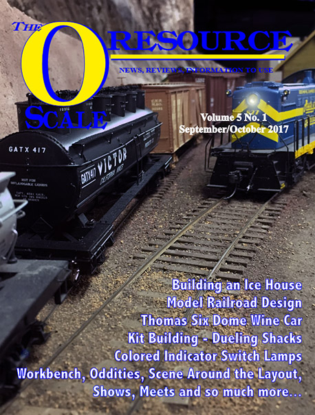 Back Issues of The O Scale Resource Magazine 25