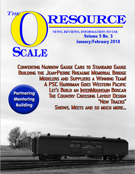 Back Issues of The O Scale Resource Magazine 27