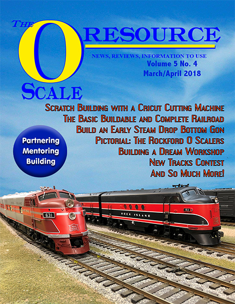 Back Issues of The O Scale Resource Magazine 28