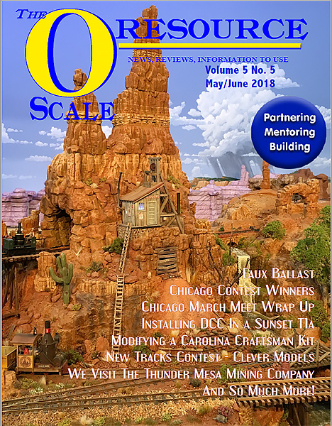 Back Issues of The O Scale Resource Magazine 29