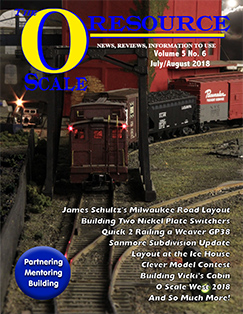 Back Issues of The O Scale Resource Magazine 30