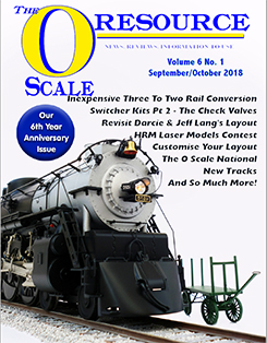 Back Issues of The O Scale Resource Magazine 31
