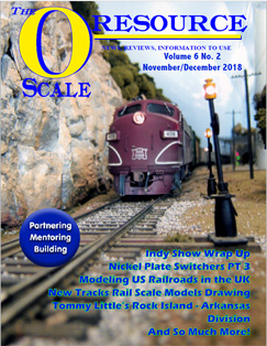 Back Issues of The O Scale Resource Magazine 32