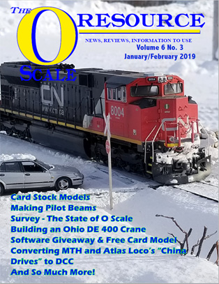 Back Issues of The O Scale Resource Magazine 33