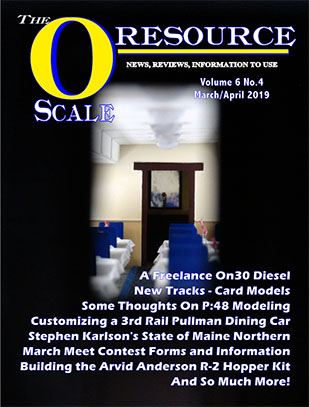 Back Issues of The O Scale Resource Magazine 34