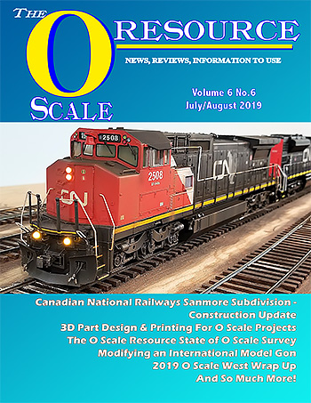 Back Issues of The O Scale Resource Magazine 36