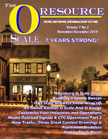 Back Issues of The O Scale Resource Magazine 38