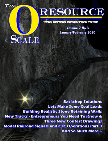 Back Issues of The O Scale Resource Magazine 39