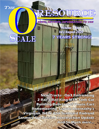 Back Issues of The O Scale Resource Magazine 42